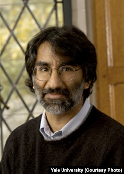 Yale University law professor Akhil Reed Amar: 'Donald Trump is dividing us along religious lines. That's un-American.' (Courtesy Yale University)
