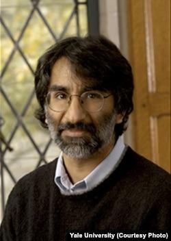 Yale University law professor Akhil Reed Amar: 'Donald Trump is dividing us along religious lines. That's un-American.' (Courtesy Yale University)