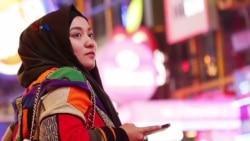 Desainer Anniesa Hasibuan di New York