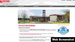 马里兰霜堡州立大学网站
