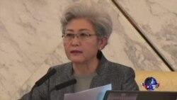 VOA连线:奥巴马批反恐法,傅莹回应不要双重标准