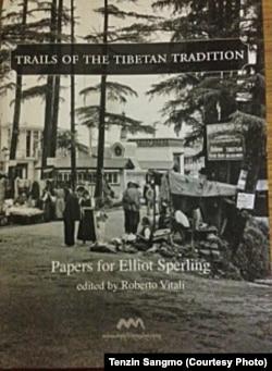 Amnye Machen releases a book in honor of Prof Elliot Sperling