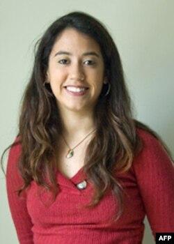 加州伯克利大学学生克莉斯汀娜是活动组织者之一