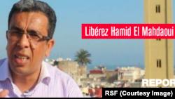 Campagne de RSF pour la libération d'Hamid el-Mahdaoui.