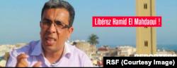 Hamid Al Mahdaoui, directeur du site Badil.info.