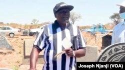 Umqeqetshi wenguqu uCosmas Zulu