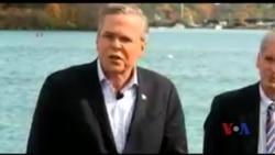 杰布·布什试图重振竞选势头
