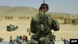 Чеський солдат на службі в силах НАТО в Афганістані