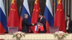 Rusya'yla Çin İşbirliğini Güçlendiriyor