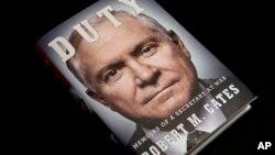 Mantan Menhan AS Robert Gates mengeluarkan buku memoir yang mengritik kebijakan Presiden Obama di Afghanistan (foto: dok).