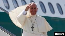 教宗方济各开始访问韩国