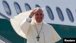 教宗方濟各8月13日離開羅馬展開亞洲之行。