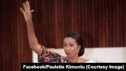 Jeannine Mabunda, nouvelle présidente de l'Assemblée nationale en RDC