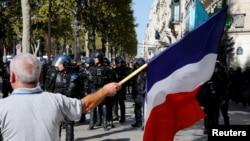 Protesti u Parizu, 21. septembar 2019