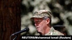 Le commandant des forces de l'OTAN en Afghanistan, le général de l'armée américaine Scott Miller.