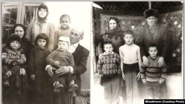 Маисат и Абдурагим Мирзахановы с детьми