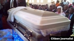 Ibhokisi likaMnu. Morgan Tsvangirai