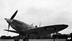 ့စစ္က်န္ ၿဗိတိသွ် Spitfire တိုက္ေလယာဥ္ ( စက္တင္ဘာ ၂၈၊ ၁၉၄၁)