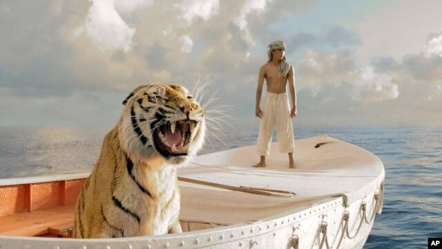 Một cảnh trong phim 'Life of Pi'.