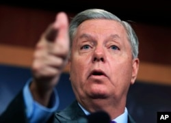 Sen. Lindsey Graham, R-S.C., Senator Lindsey Graham, has called for Alabama Senate candidate Roy Moore to quit the race after the sexual abuse allegations surfaced.