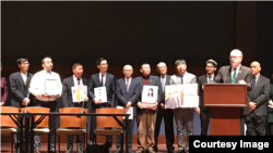 促进中国宗教自由联盟2019年3月4日在美国成立(美国国际宗教自由委员会照片)