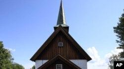 노르웨이의 희생자 장례식