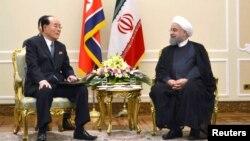 مقام ارشد کره شمالی در حاشیه مراسم تحلیف روحانی در تهران دیده شد.