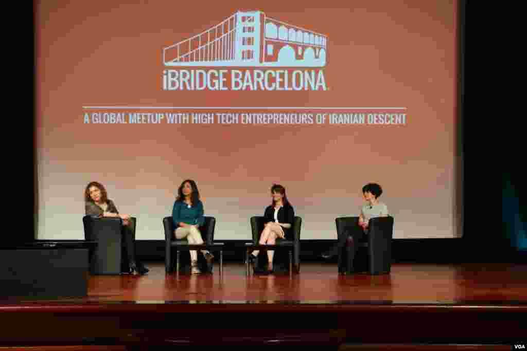 یکی از نشست های روز دوم همایش درباره چالش های زنان کارآفرین بود.