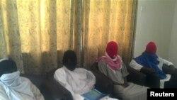 Các con tin bị nhóm Hồi giáo Boko Haram bắt cóc (ảnh tư liệu)