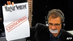 Protest evropskih parlamentaraca protiv mađarskog zakona o medijima
