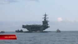 Tàu sân bay Mỹ kết thúc chuyến thăm Việt Nam