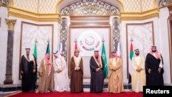 ریاض سعودی عرب میں خلیجی تعاون کونسل کے 40 ویں سربراہ اجلاس کا ایک منظر۔ 10 دسمبر 2019