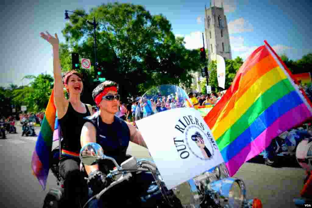 Համասեռականների շքերթ՝ ԱՄՆ-ի մայրաքաղաքում