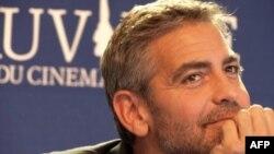 Diễn viên điện ảnh Mỹ George Clooney
