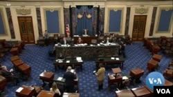 Lãnh đạo Quốc hội tranh luận về những bước két tiếp sau khi TT Trump bị luận tội.