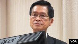 台灣國防部長嚴德發資料照 (美國之音張永泰拍攝)