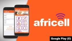 Logo da empresa de telecomunicações Africell
