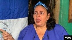Liseth Pérez le dijo a la Voz de América que siente indignación al ver lo que ocurre con excombatienes que han hecho historia.