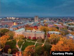 미국 로드아일랜드주 프로비던스시의 칼리지힐(College Hill)에 소재한 브라운 대학교. 제공: Brown University Official Instagram