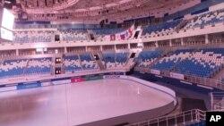 Новая ледовая арена в Сочи