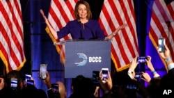 Lãnh đạo phe Dân chủ tại Hạ viện, bà Nancy Pelosi.