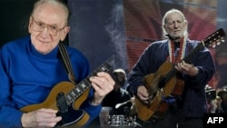 Les Paul and Willie Nelson gained fame with the guitar in different ways.