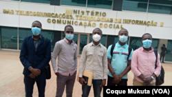 Promotores de órgãos comunitários de comunicação social em Angola, Luanda
