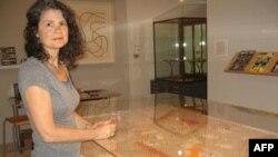 Саша Чавчавадзе в Музее спичек