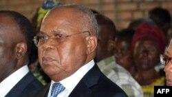 Etienne Tshisekedi, leader de l'Union pour la démocratie et le progrès social (UDPS), principal parti de l'opposition en RDC