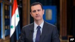 敘利亞總統阿薩德。(資料照片)