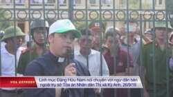 Chính quyền muốn hạn chế hoạt động của Linh mục Đặng Hữu Nam?