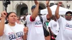 走进美国: 美国的罢工