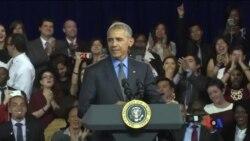 2016-11-21 美國之音視頻新聞: 奧巴馬說美國的世界領導地位不可或缺