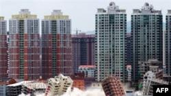 Շենքերի քանդում Չինաստանում (արխիվային լուսանկար)